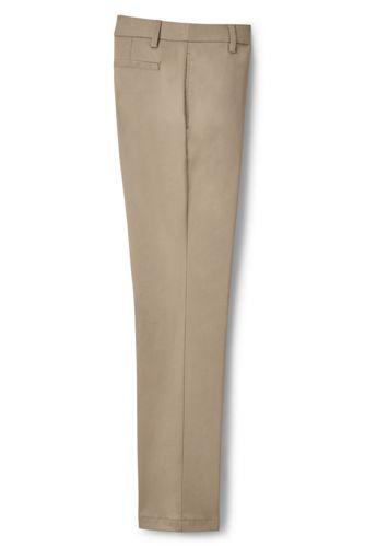 Le Chino Droit Stretch Taille Rabaissée, Femme Grande Taille