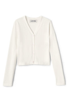 Girls' Long Sleeve Sophie V-neck Cardigan