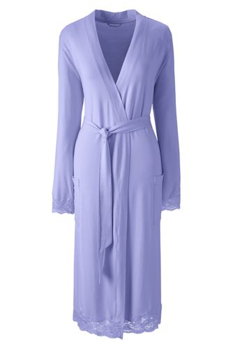 Women's Regular Modal Jersey Dressing Gown