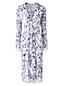 Le Kimono Stretch à Motifs et Dentelle, Femme Stature Standard