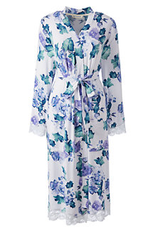 Women's Patterned Modal Jersey Dressing Gown