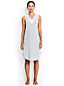 Women's Regular Patterned Modal Lace V-neck Sleeveless Nightgown