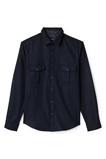 Men's Wool Blend Overshirt