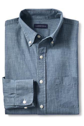 Men's Regular Tailored Fit Chambray Shirt