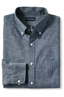 Men's Tailored Fit Chambray Shirt