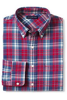 La Chemise en Coton Twill Coupe Habillée à Motifs, Homme