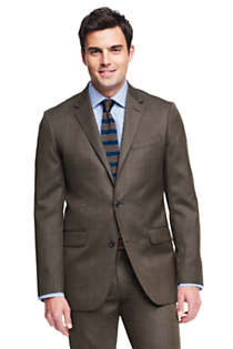 Men's Tailored Fit Wool Year'rounder Suit Jacket, Front