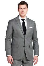 Men's Tailored Fit Wool Year'rounder Suit Jacket