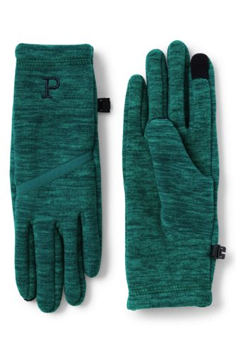 Handschuhe aus meliertem Fleece