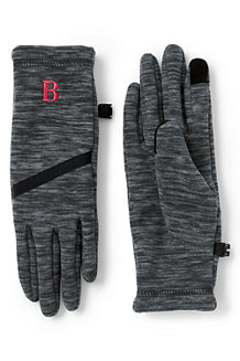 Women's Midweight Melange Fleece EZ Touch Gloves