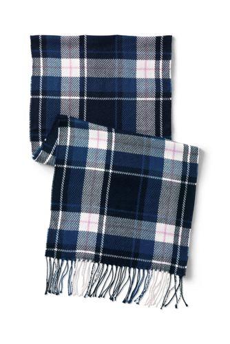 L'Écharpe Touché Cachemire Motifs Écossais Femme
