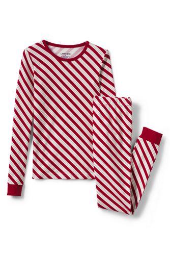 Gemustertes Pyjamaset für Mädchen