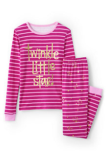 Girls' Snug Fit Jersey Pyjamas
