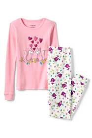 Toddler Girls Snug Fit Pajama Set