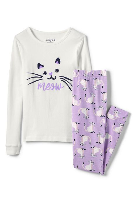Girls Snug Fit Pajama Set