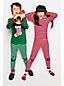 Schmal geschnittenes Pyjamaset Grafik-Print für Mädchen