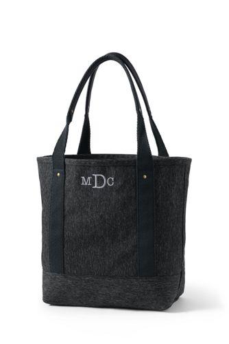 Marl Texture Tote Bag