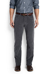 Men's Regular Fit 14-wale Corduroy Pants-Dark Indigo Wash