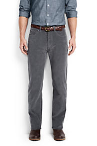Mens Grey Corduroy Pants