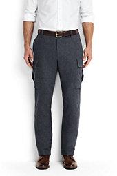 Men's Utility Fit Wool Cargo Pants