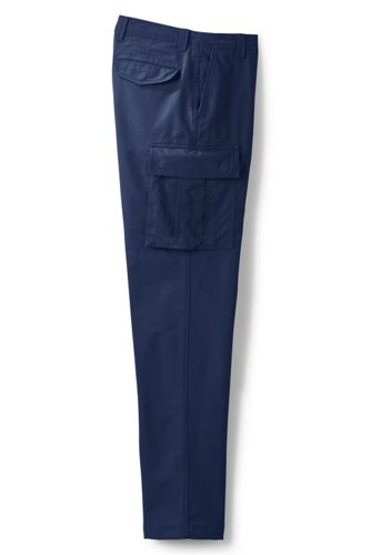 Men's Regular Traditional Fit Cargo Chinos
