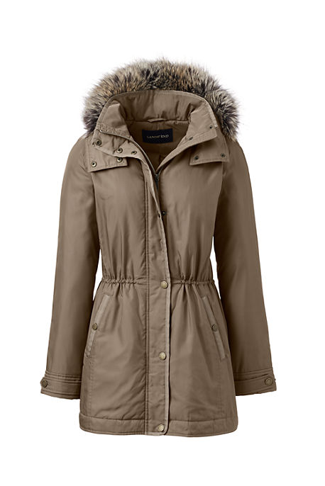 Lands End City Anorak Womens Coat