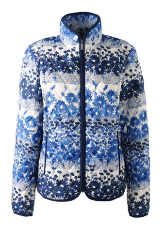 Women's Petite Primaloft® Patterned Travel Jacket