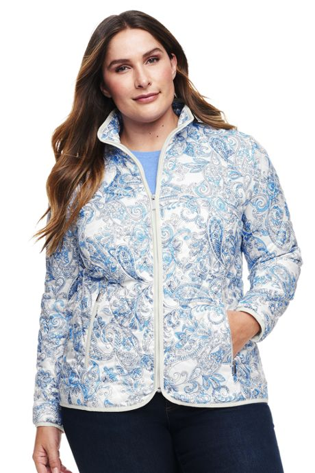 Women's Plus Size Lightweight Primaloft Jacket