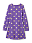 Little Girls' Long Sleeve Skater Dress