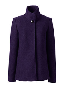 Women's Textured Wool Blend Jacket