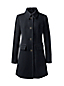 Women's Regular Wool Blend Car Coat