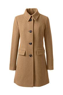 Le Manteau de Conduite en Laine Femme