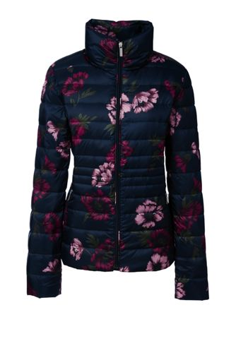 Women's Regular Lightweight Packable Patterned HyperDRY Down Jacket