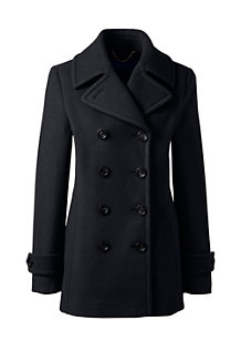 Women's Wool Blend Peacoat