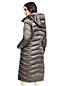 Le Manteau Long en Duvet Léger Classique Effet Brillant Femme, Taille Standard
