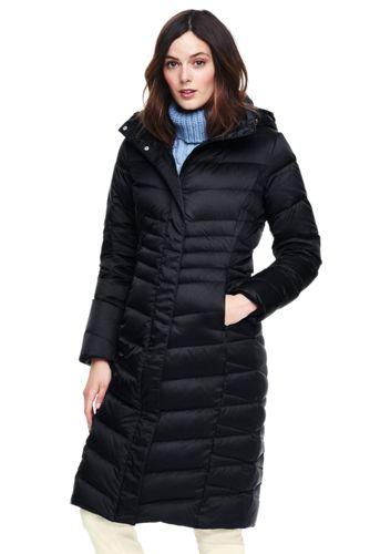 Lands end ladies down coats