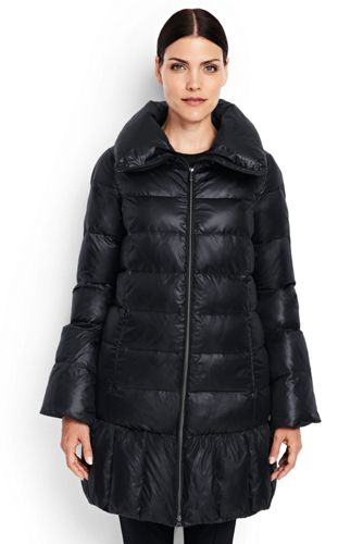Women's Regular Trapeze HyperDRY Down Coat