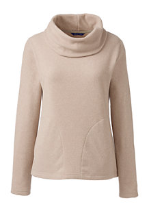 Women's ThermaCheck®-100 Fleece Cowl Neck Jumper