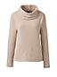 Le Pullover en Polaire Col Boule Femme, Taille Standard
