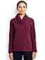 Fleece-Pullover mit Wasserfallkragen