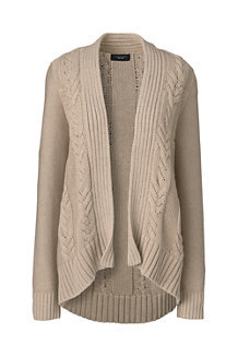 Women's Drifter™ Cable Open Cardigan