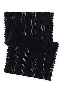 Women's Fringed Infinity Scarf