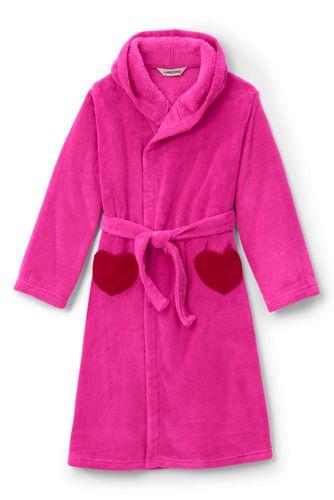 Fleece-Bademantel für Mädchen