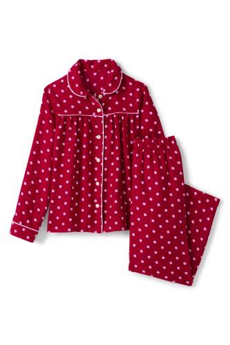 Flannel-Pyjamaset für kleine Mädchen