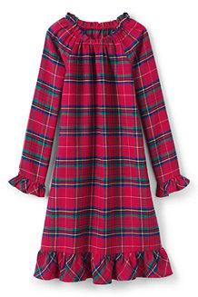 Flannel-Nachthemd für Mädchen