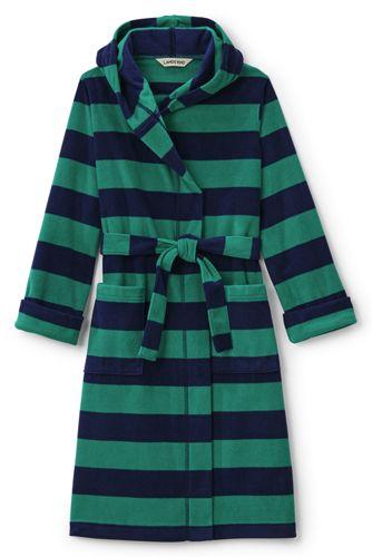 La Robe de Chambre en Polaire à Motifs, Garçon