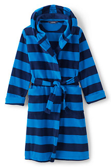 Boys' Patterned Fleece Dressing Gown