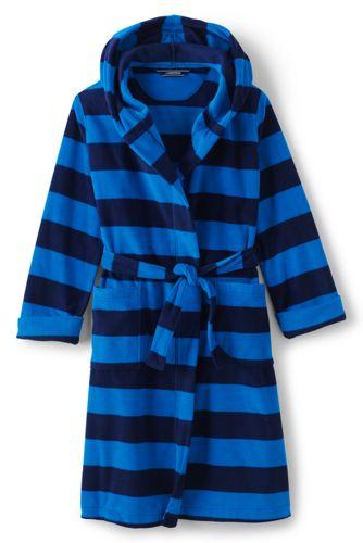 Boys' Patterned Fleece Dressing Gown