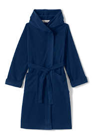Toddler Kids Hooded Fleece Robe