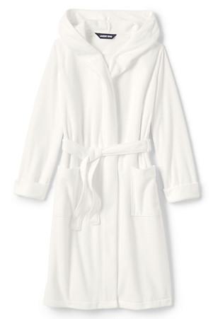 dafec9cf7 Boys' Plain Fleece Dressing Gown | Lands' End